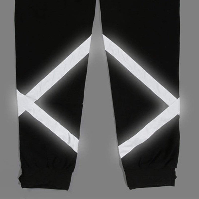 SAIYAN REFLECTIVE LIGHT CARGO PANTS - Raiment NYC