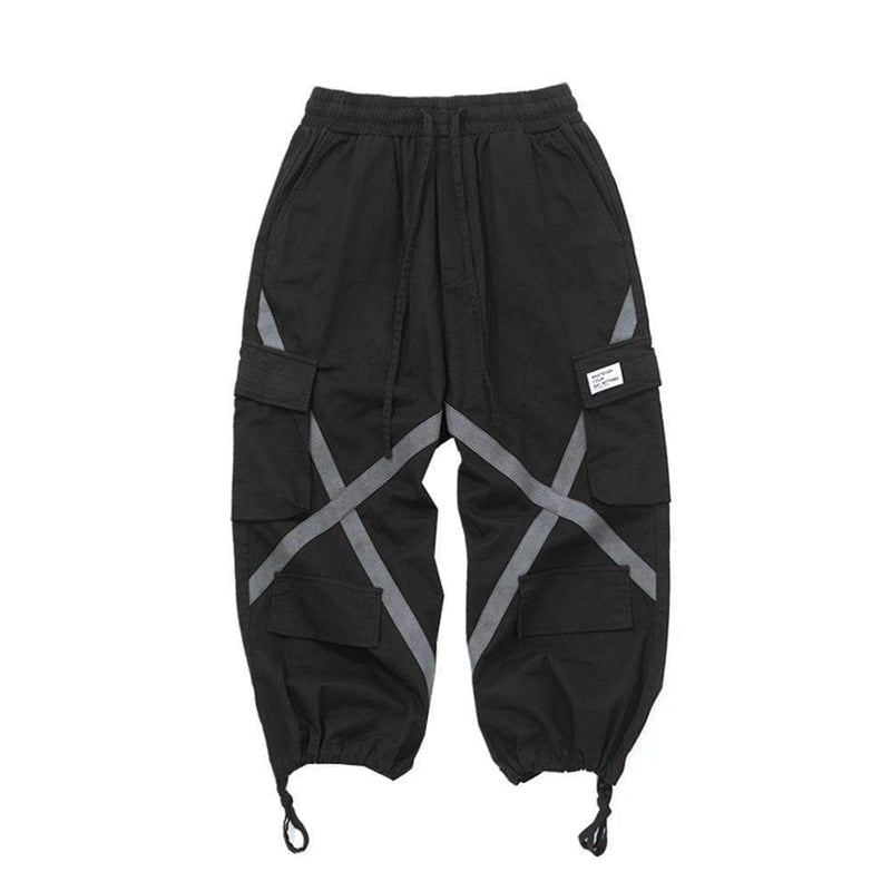 KINGSTON CROSS ANKLE-TIED CARGO PANTS - Raiment NYC