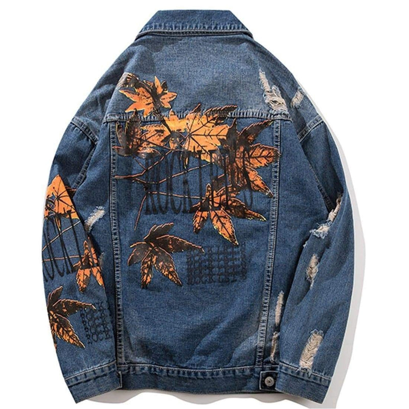 SUMMER BAND DENIM JACKET - Raiment NYC