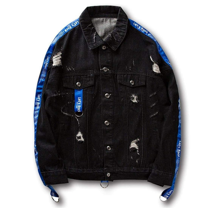 MODERN ROCK DENIM JACKET - Raiment NYC