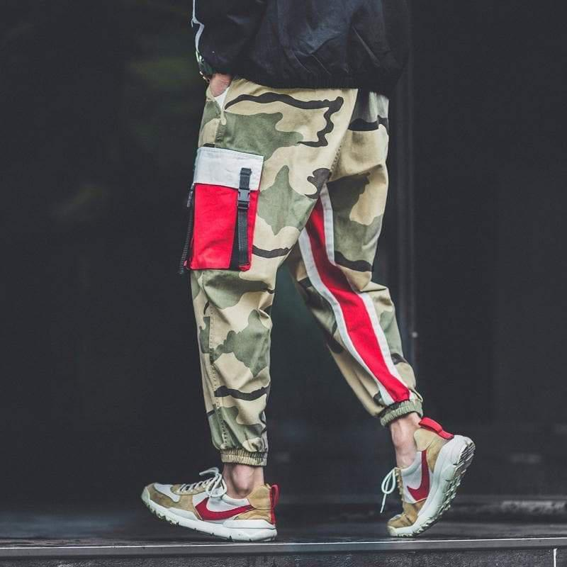ESTEEMED CAMO JOGGERS PANTS