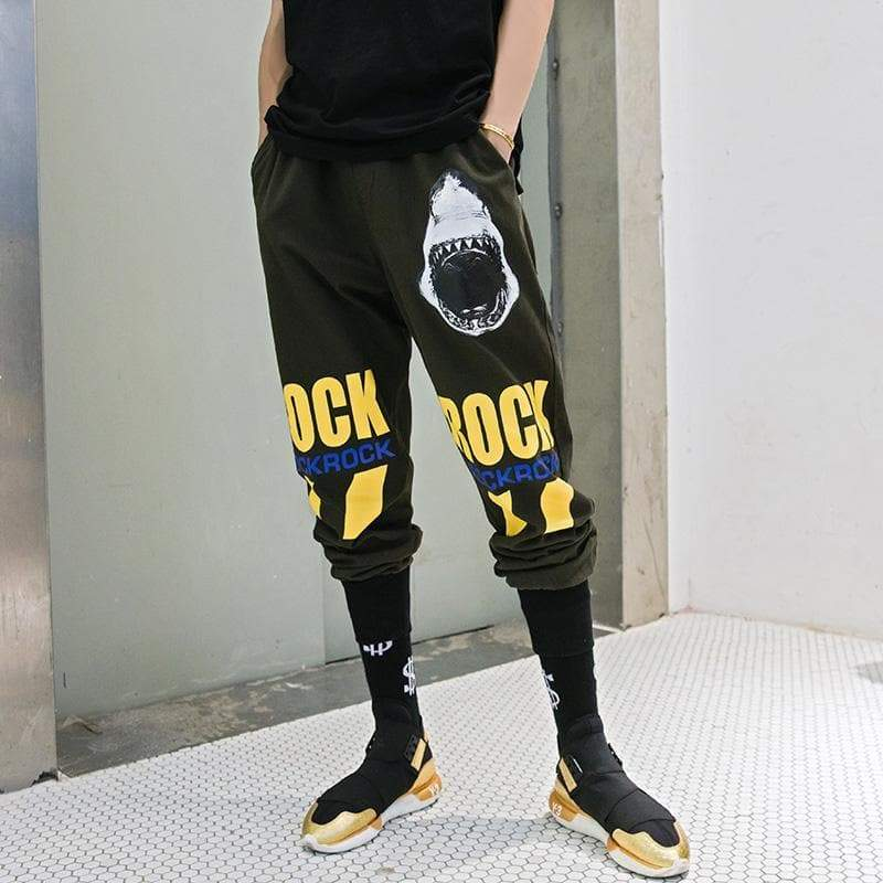 SHARK ROCK PANTS - Raiment NYC
