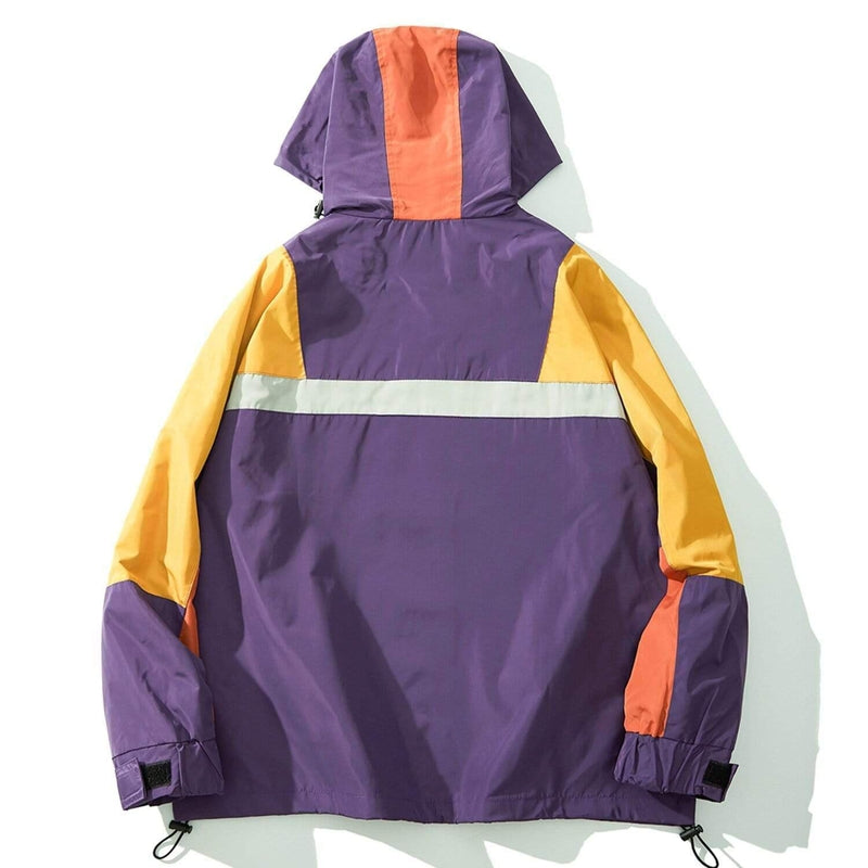 JUST SHOW UP WINDPROOF COAT - Raiment NYC