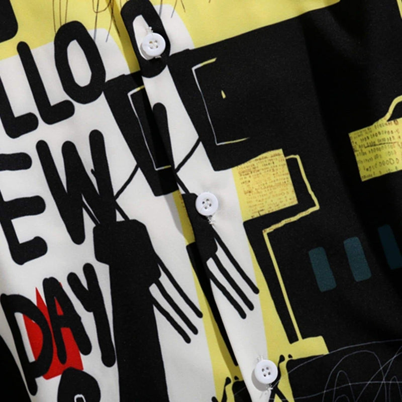 HELLO NEW DAY URBAN SHIRT - Raiment NYC