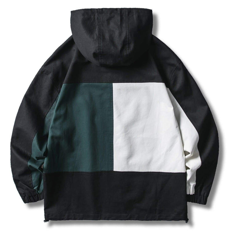 TOMMY DUAL COLOR HOODIE - Raiment NYC