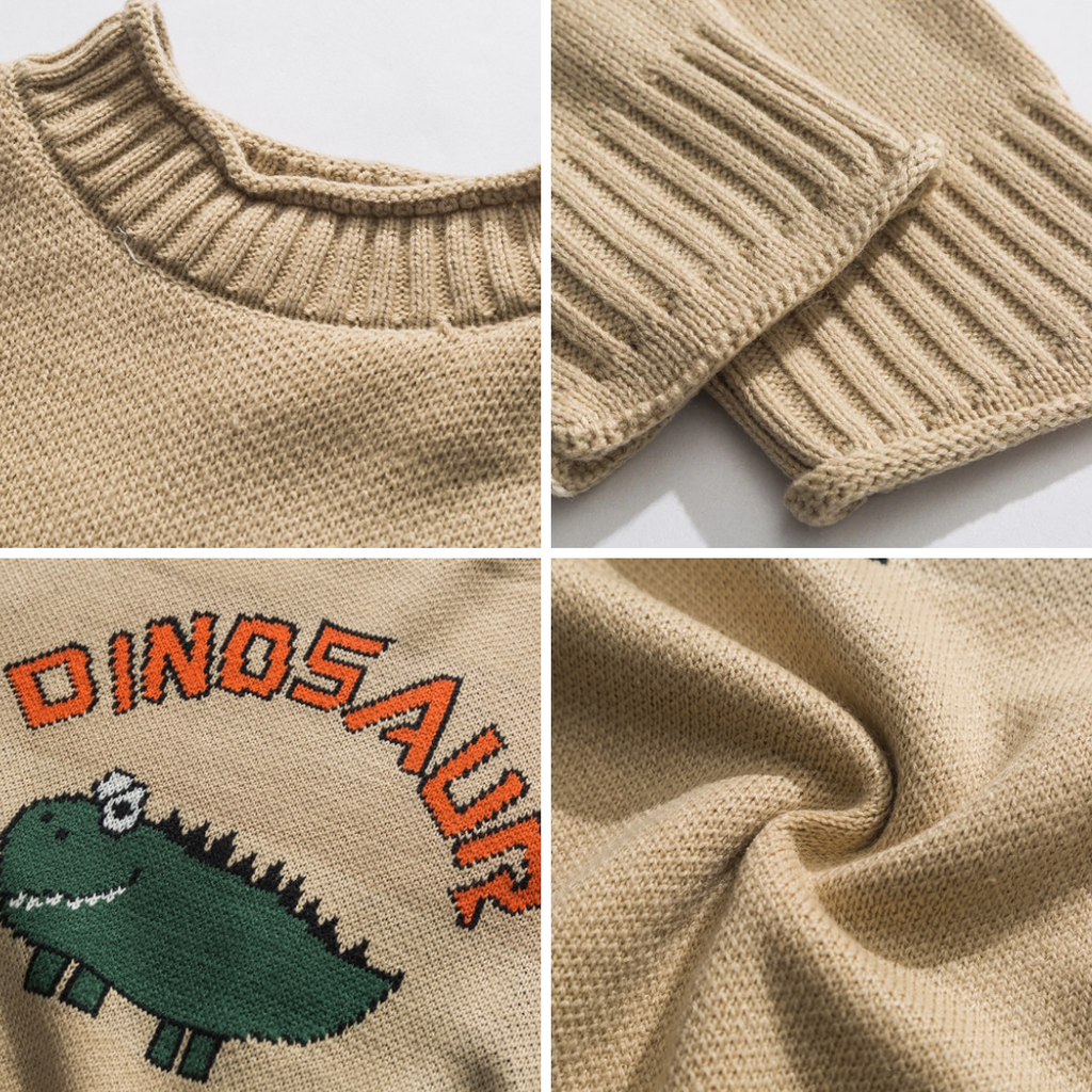 ODD DINOSAUR SWEATER