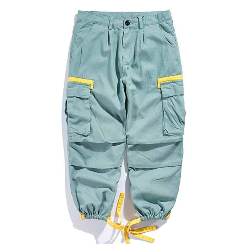 PROMENADE PATCHWORK CARGO PANTS - Raiment NYC