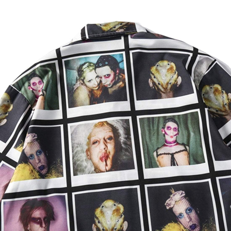 PORTRAIT COLLAGE SHIRT - Raiment NYC