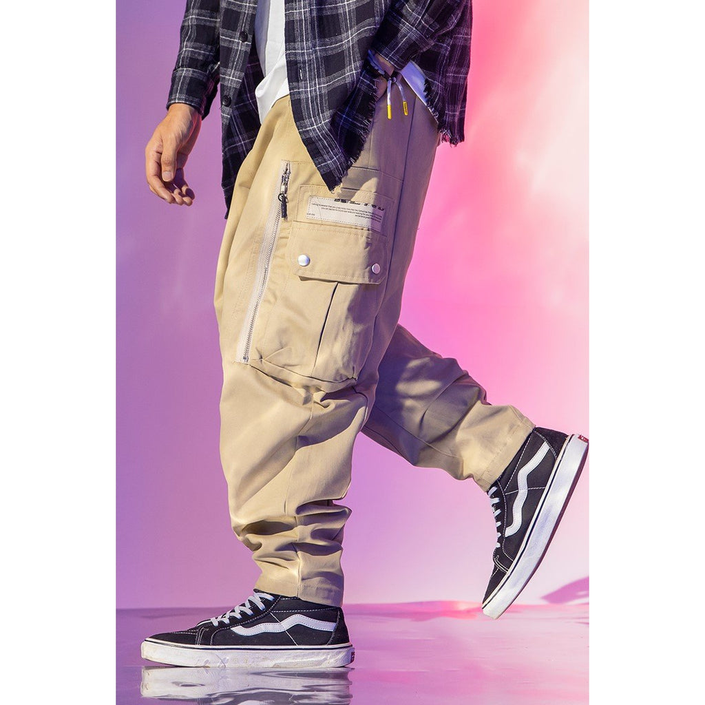 ZIPPED CARGO PANTS