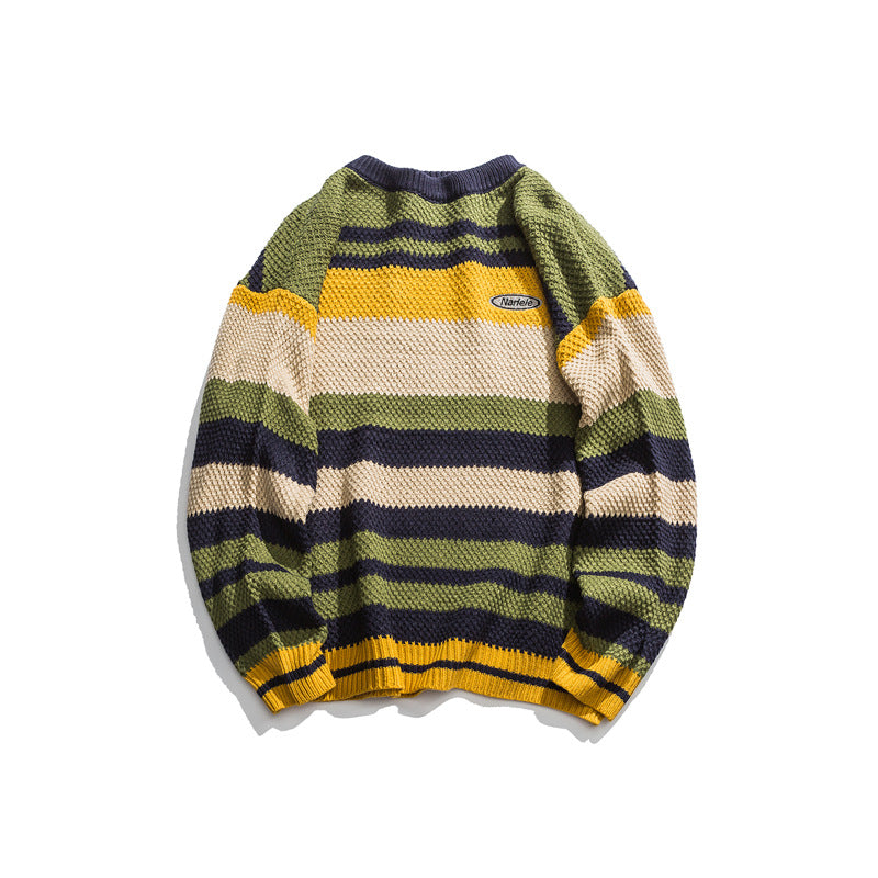 NERIELE STRIPED SWEATER