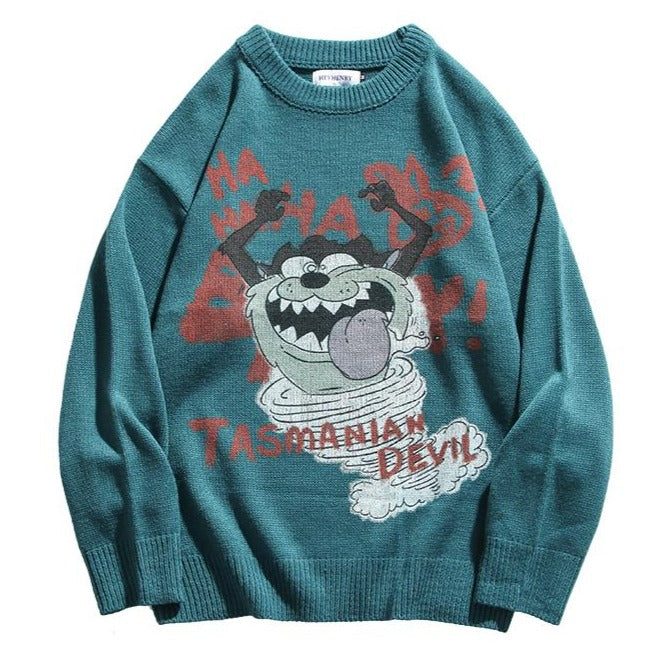 TASMANIAN DEVIL SWEATER