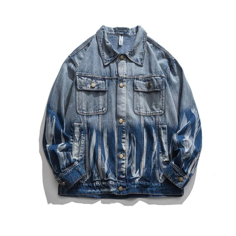 HALF DYED DENIM JACKET