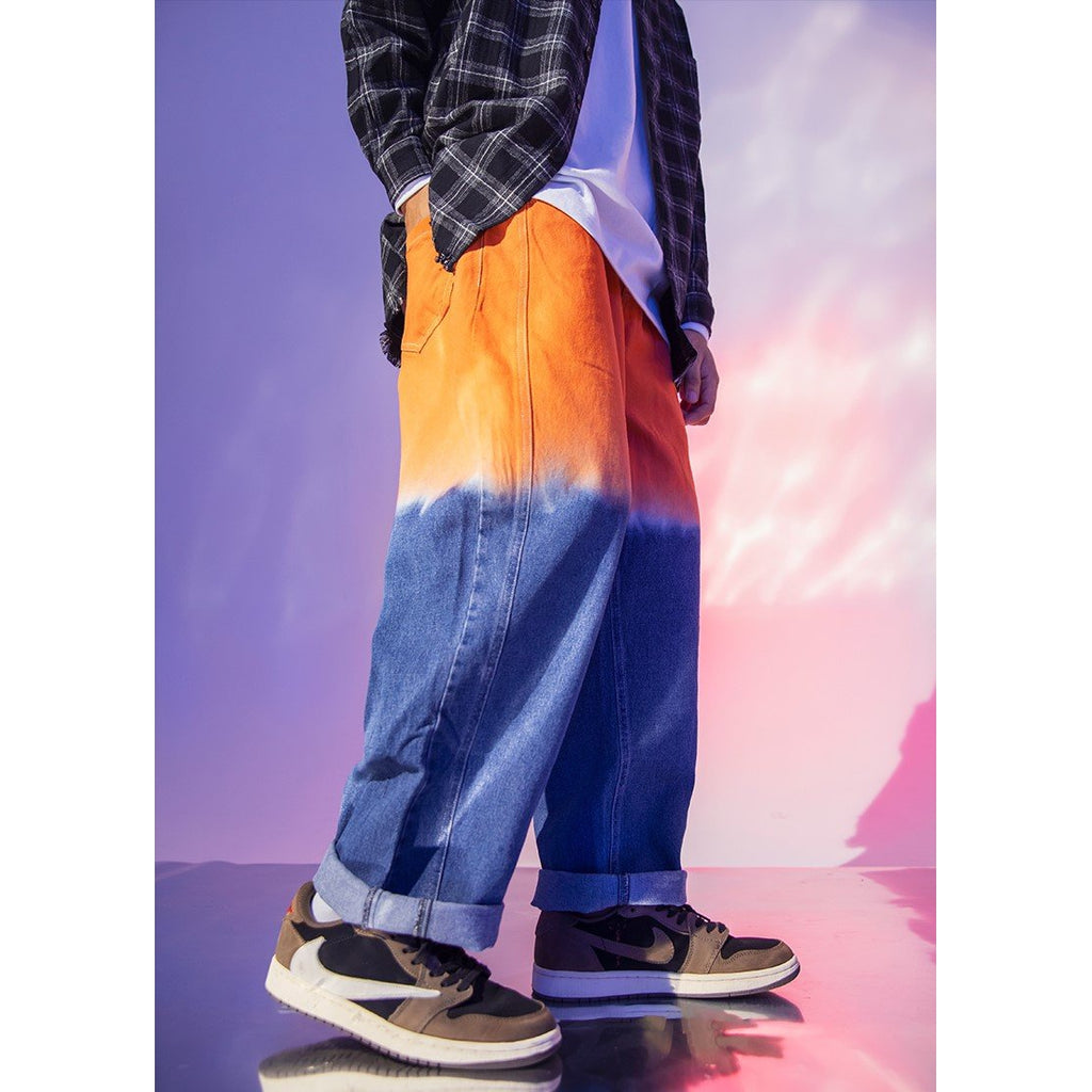 GRADIENT DYED JEANS