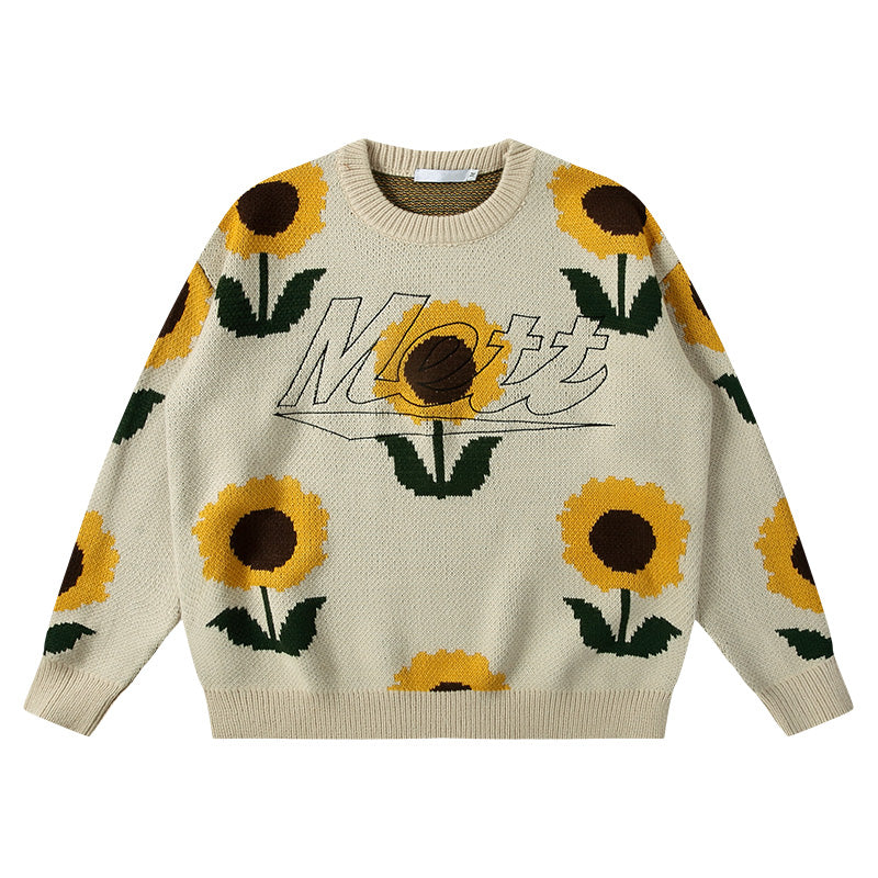 SUNFLOWERS SWEATER