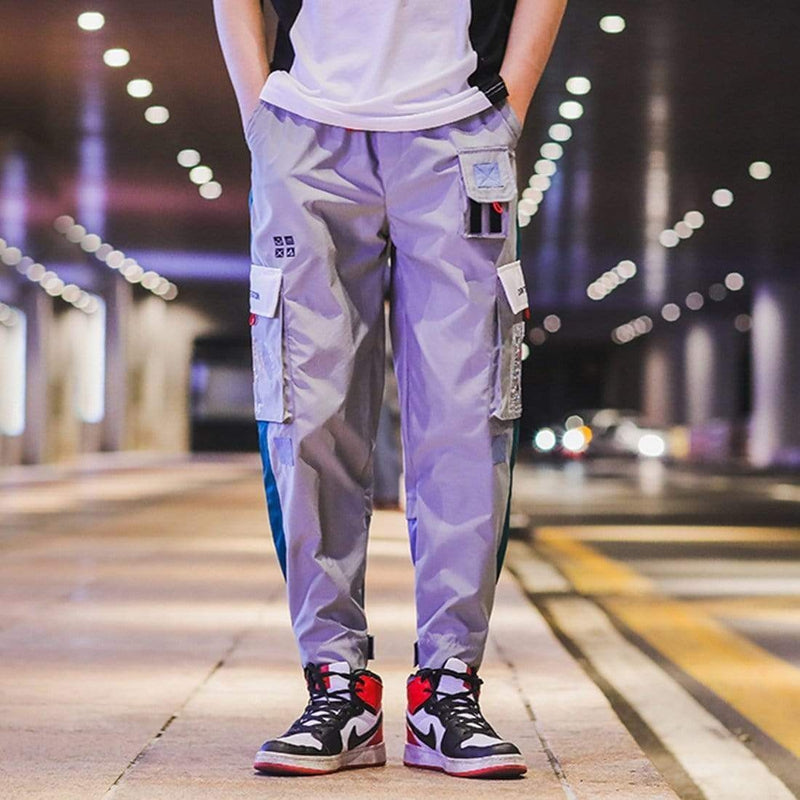 FLYING PVC CARGO PANTS - Raiment NYC