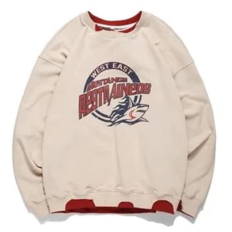 MUSTANGS FRAYED SWEATER - Raiment NYC