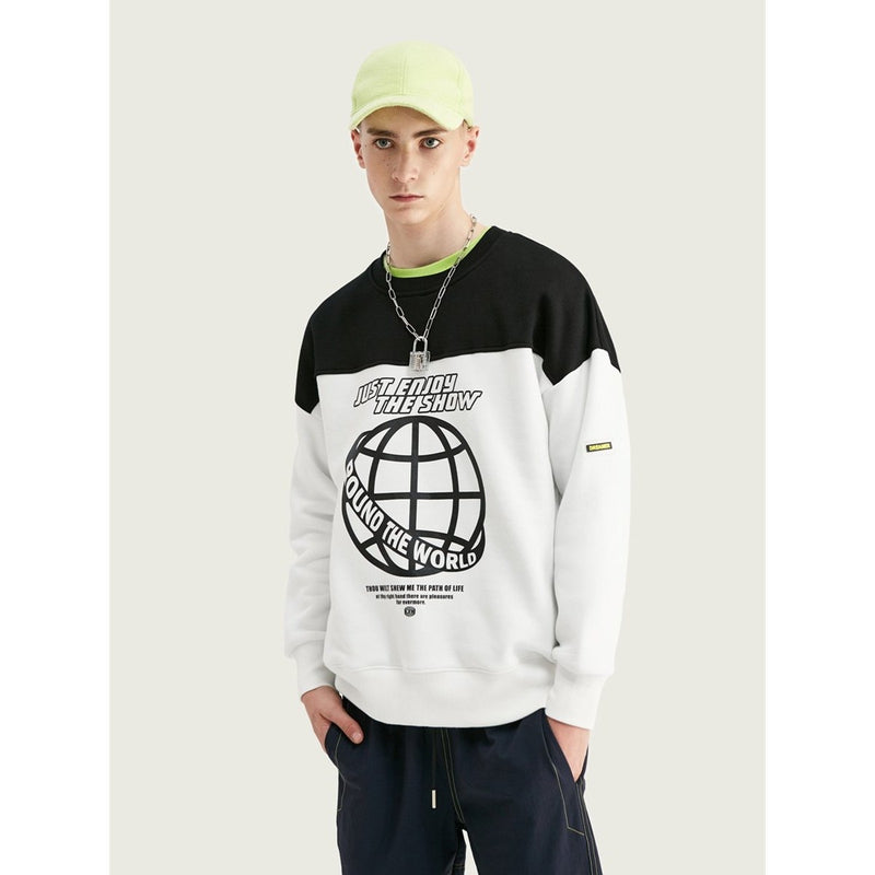 JUST ENJOY THE SHOW SWEATSHIRT - Raiment NYC