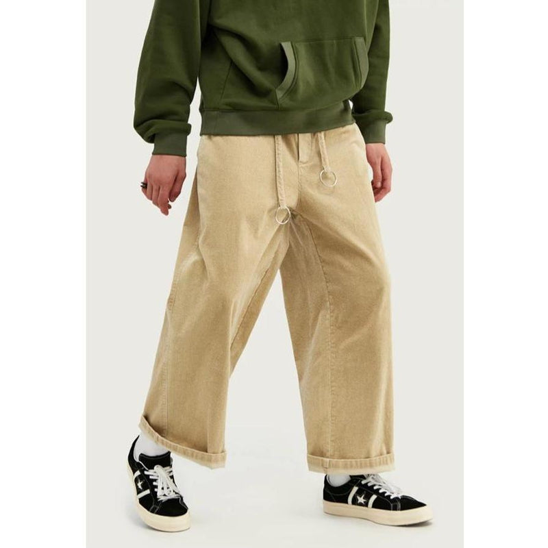 WIDE LEG CORDUROY PANTS - Raiment NYC