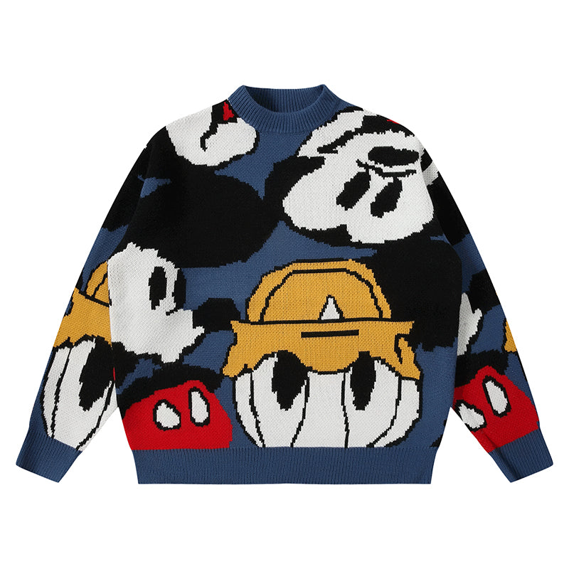 CARTOON MANIA SWEATER