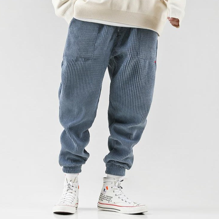WAFFLE TEXTURED PANTS