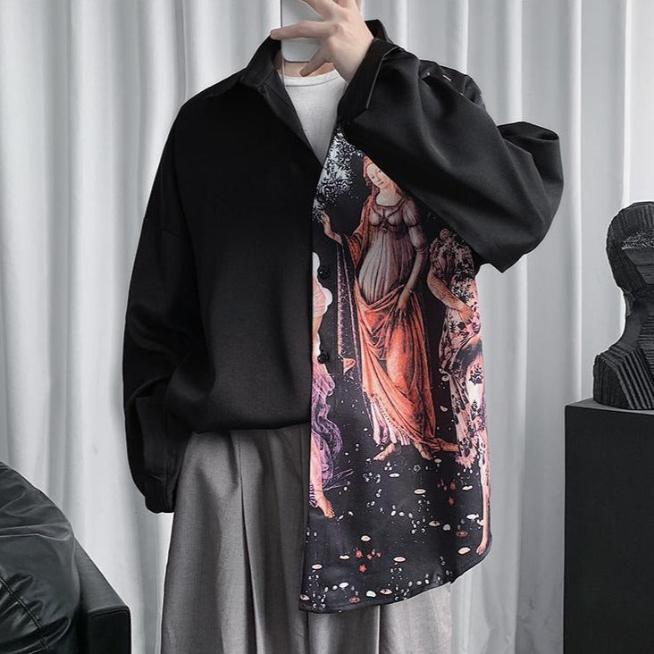DARK PAINTING SHIRT