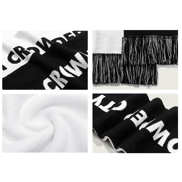 CROWDED CITY SCARF