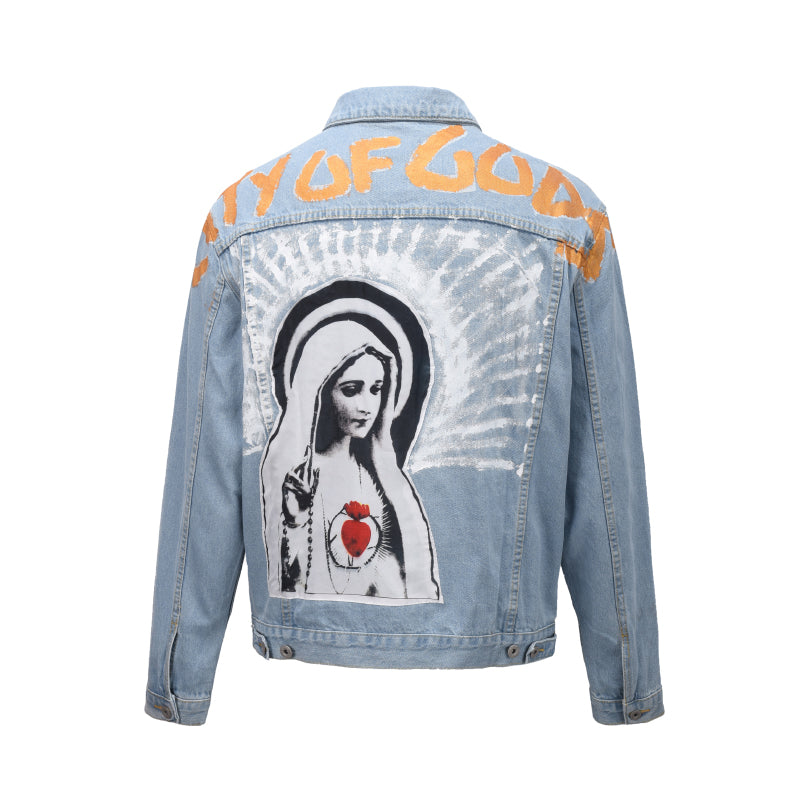 BLESSED DENIM JACKET