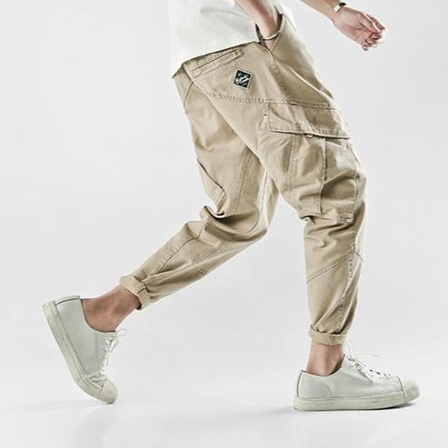 TECHNICAL KHAKI PANTS