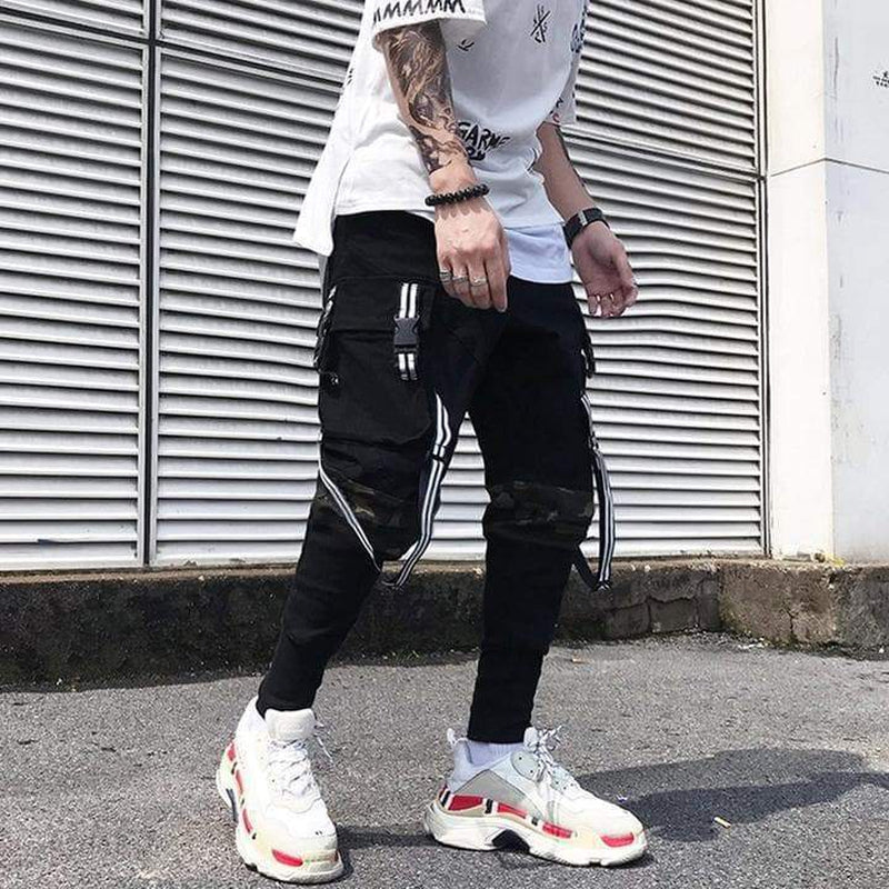 FALCON CAMO JOGGERS PANTS - Raiment NYC