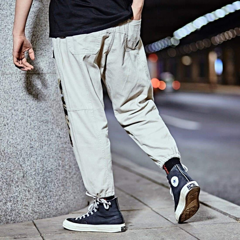 GROVER PATTERN LOOSE PANTS - Raiment NYC