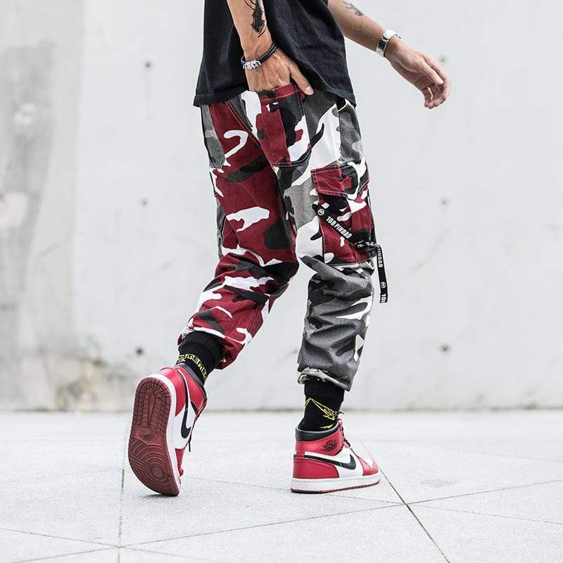 PINDAO CAMO CARGO PANTS - Raiment NYC