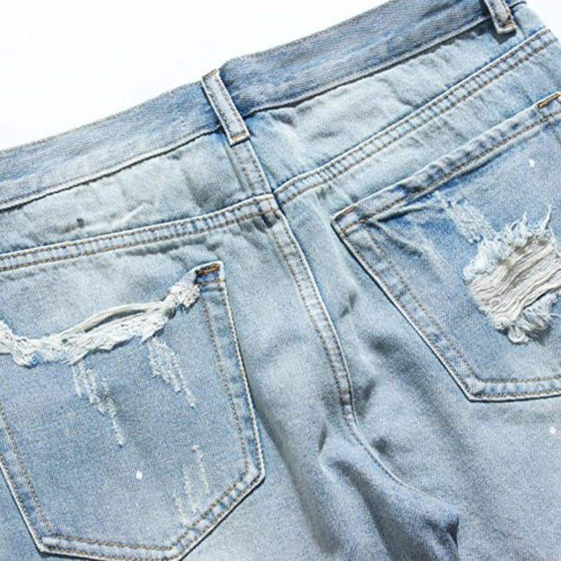 JEAN SHORTS - Raiment NYC