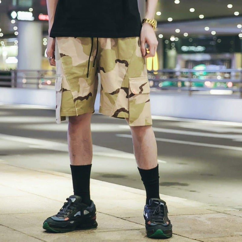 TUNDORA CAMO SHORTS - Raiment NYC