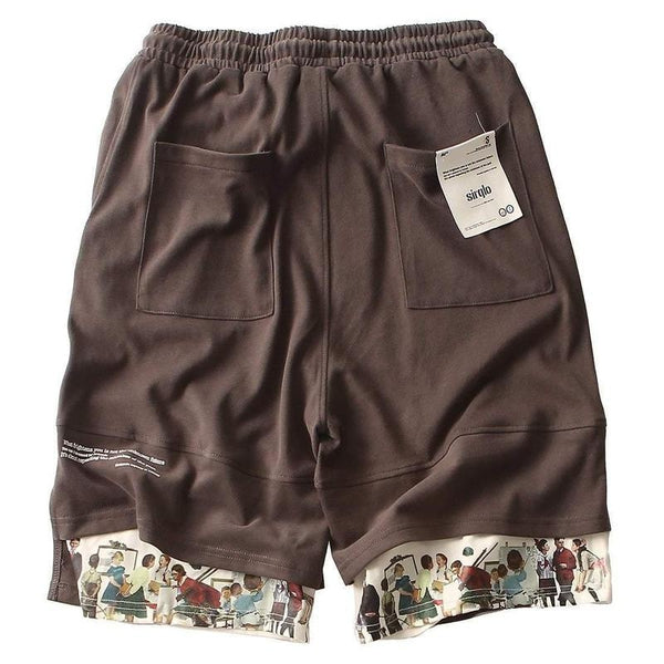 TACHY CARDIA SHORTS - Raiment NYC