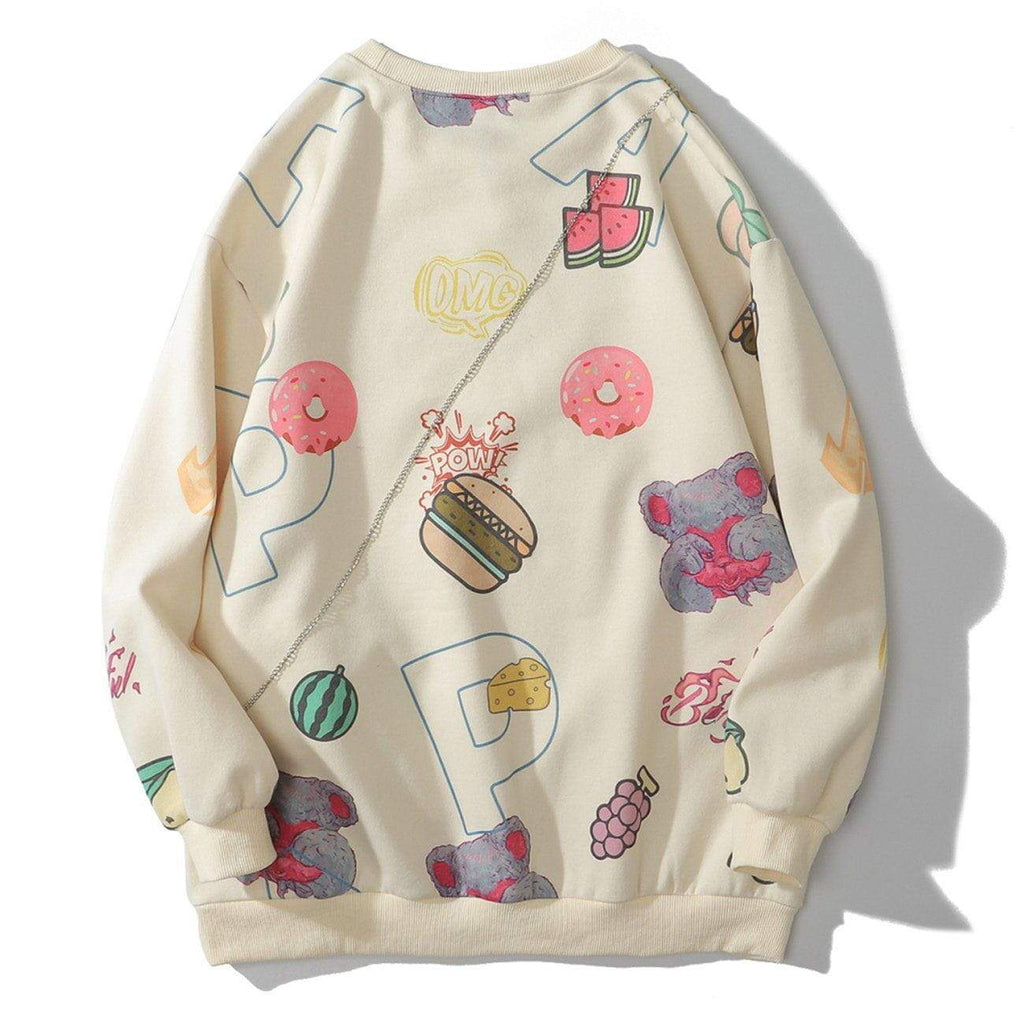 DONUT CHAIN SWEATER