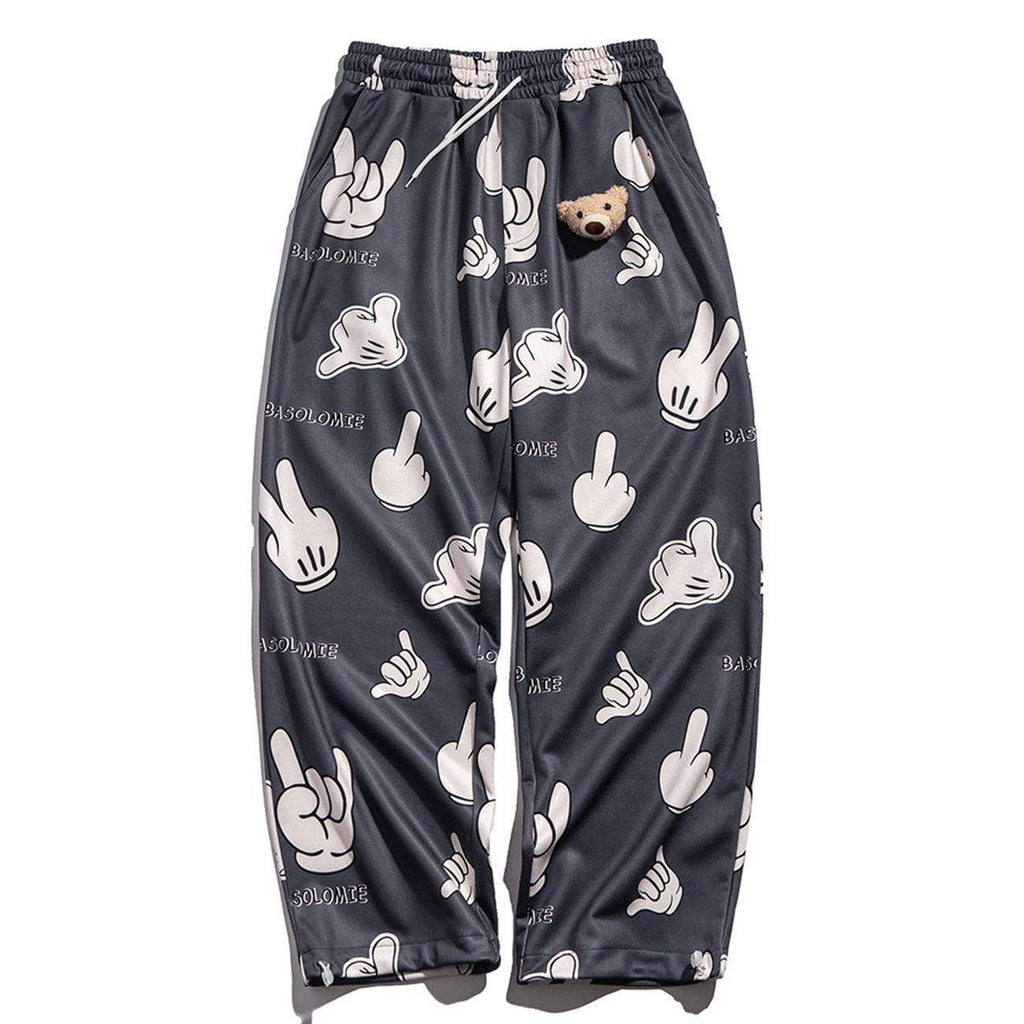HANDSPEAK MICKEY PANTS