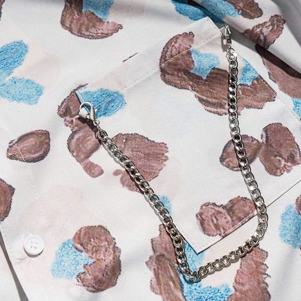 ABSTRACT CHAIN SHIRT