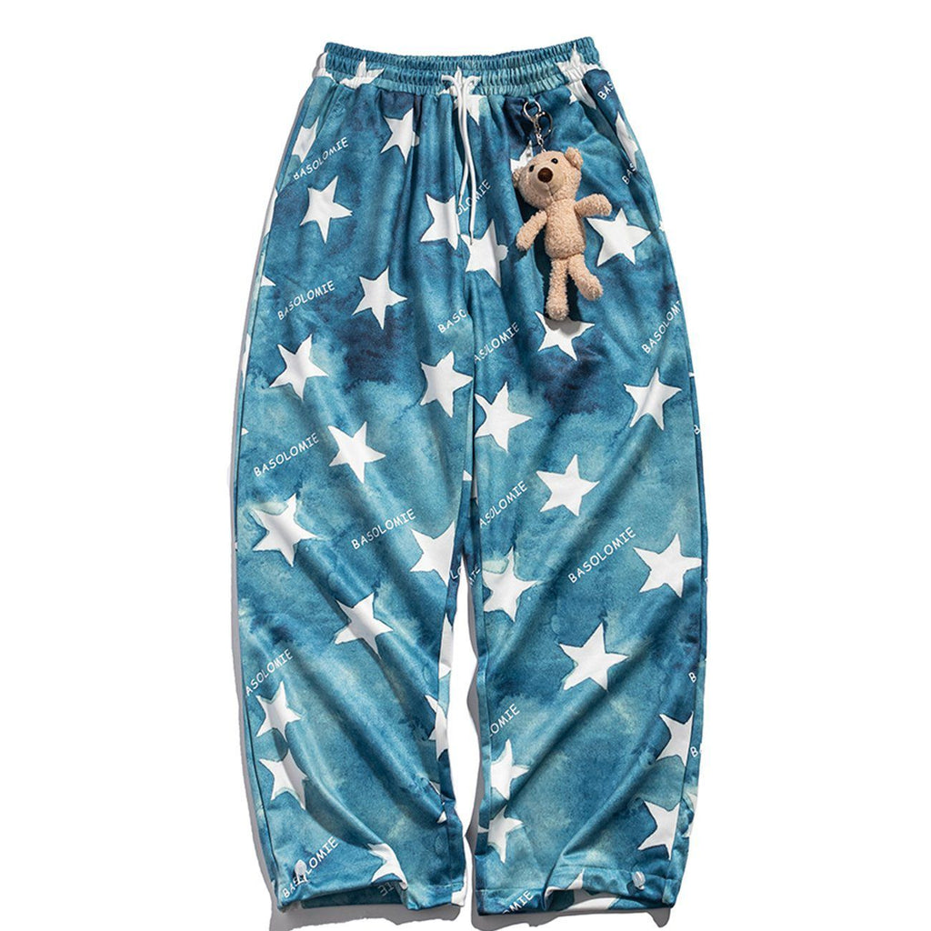 PAINTED STARS GRADIENT PANTS
