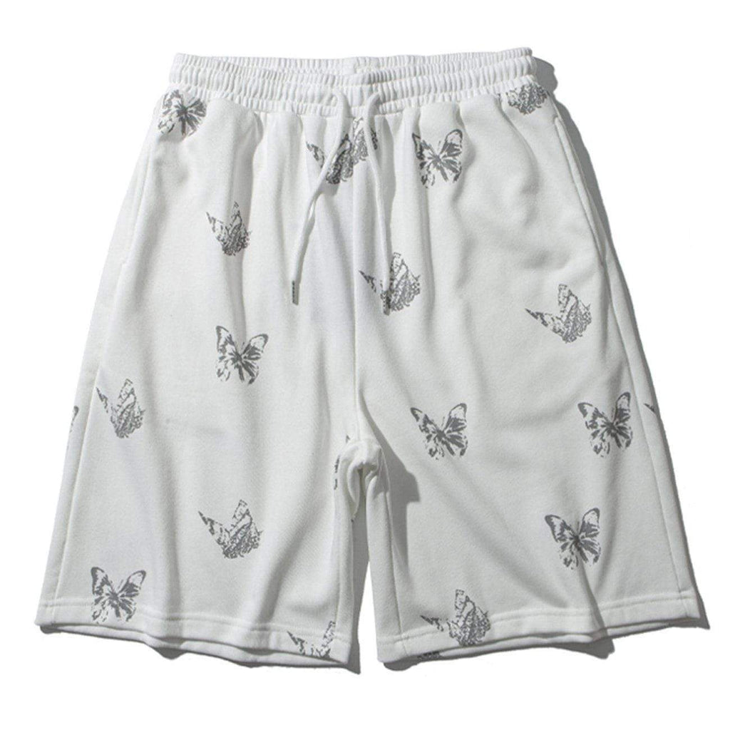 REFLECTIVE BUTTERFLY SHORTS