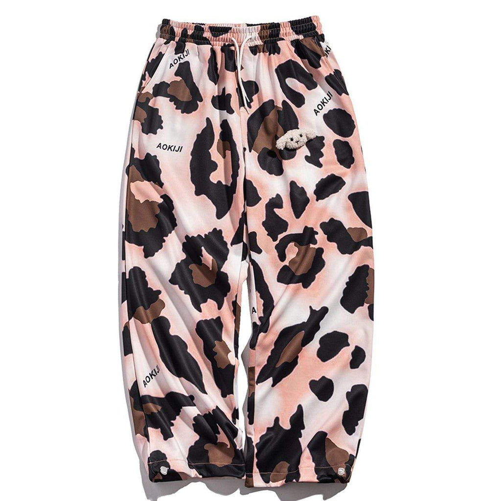 REVEALED LEOPARD PRINT PANTS