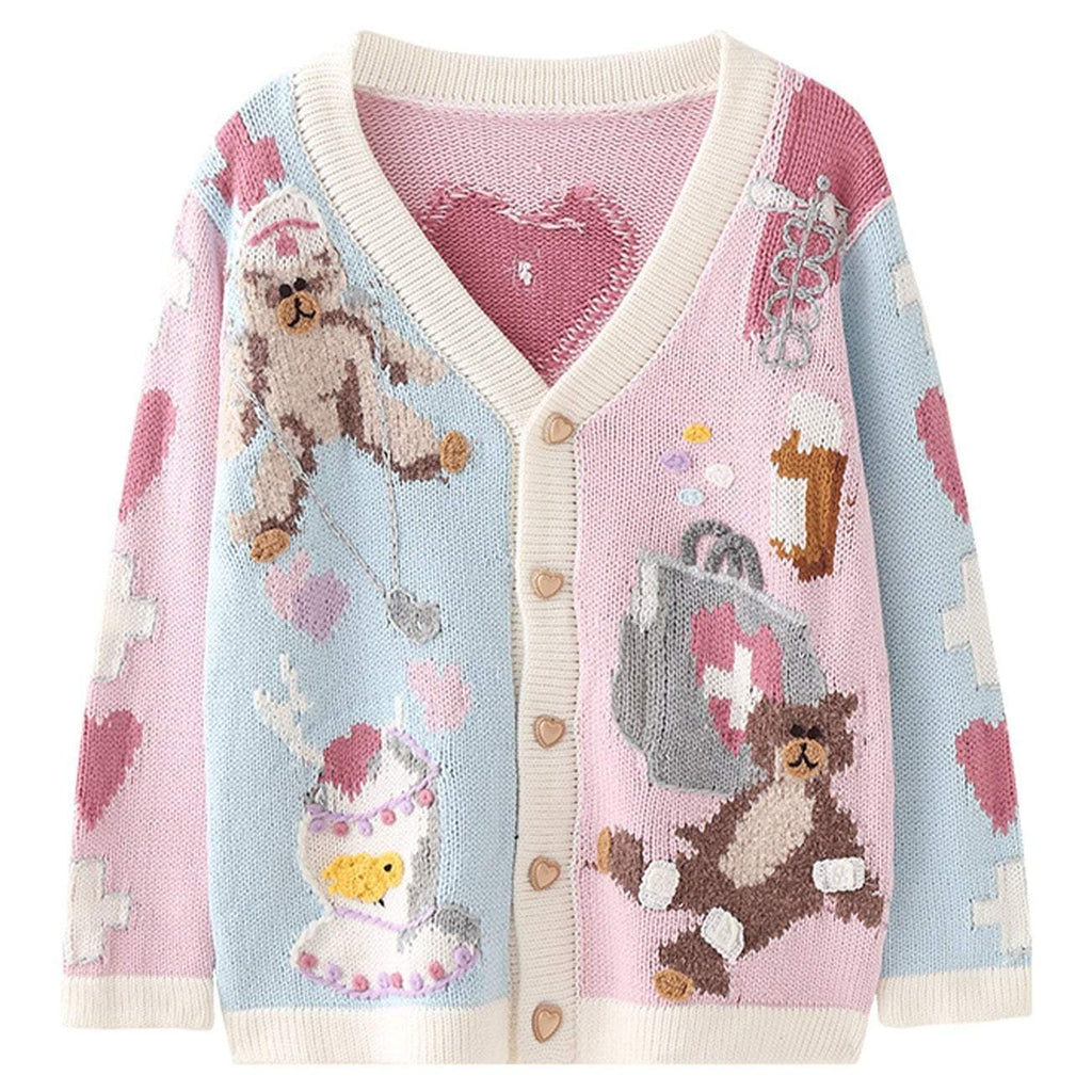 CURE LOVE BEAR CARDIGAN