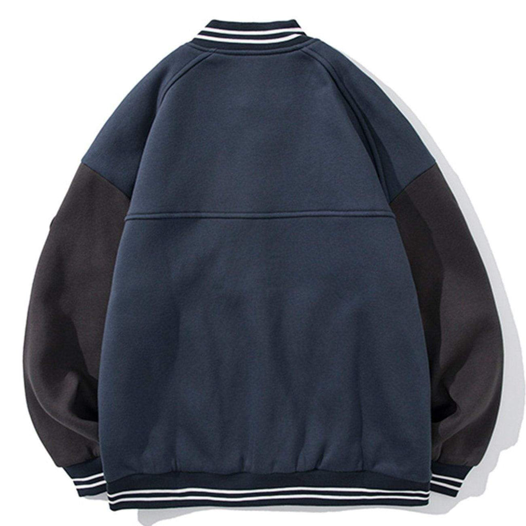 GRIND AND REPAIR VARSITY JACKET
