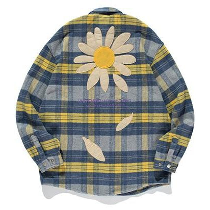 SUNFLOWER PLAID SHIRT