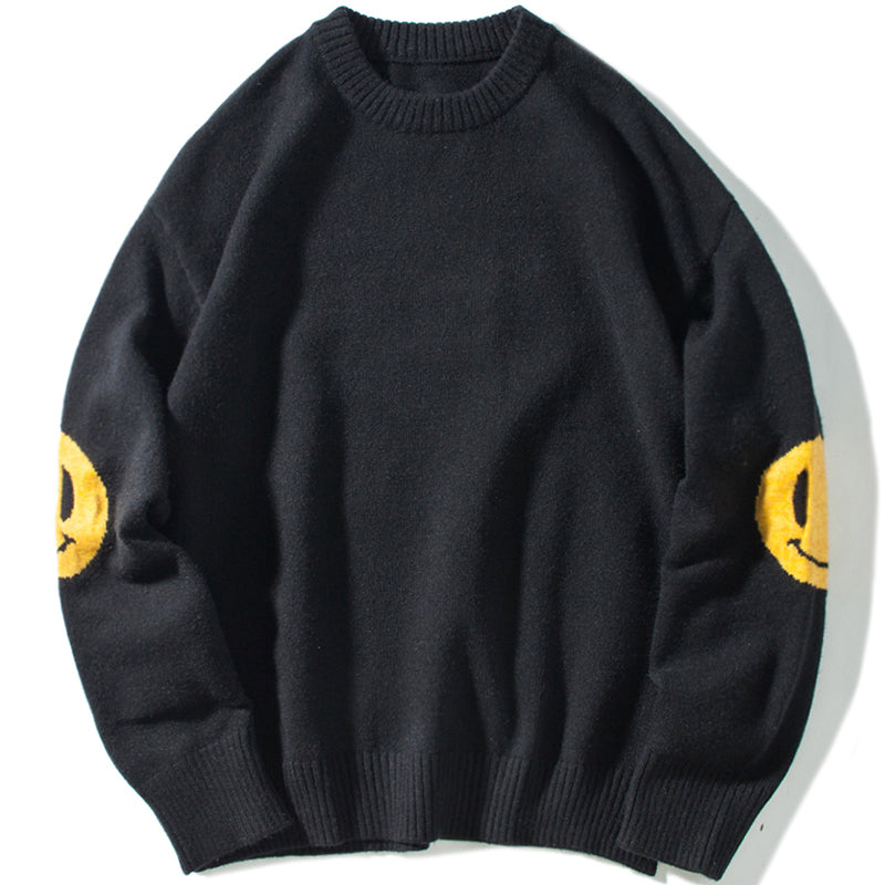 HAPPY FACES SWEATER