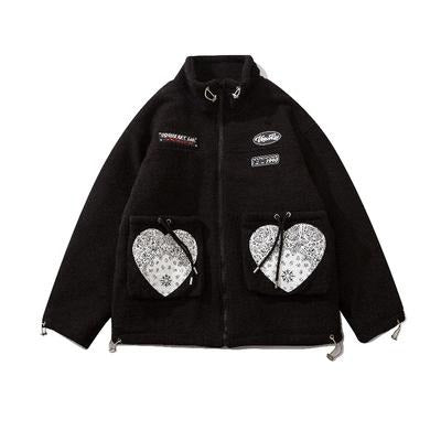 HEARTS SHERPA JACKET