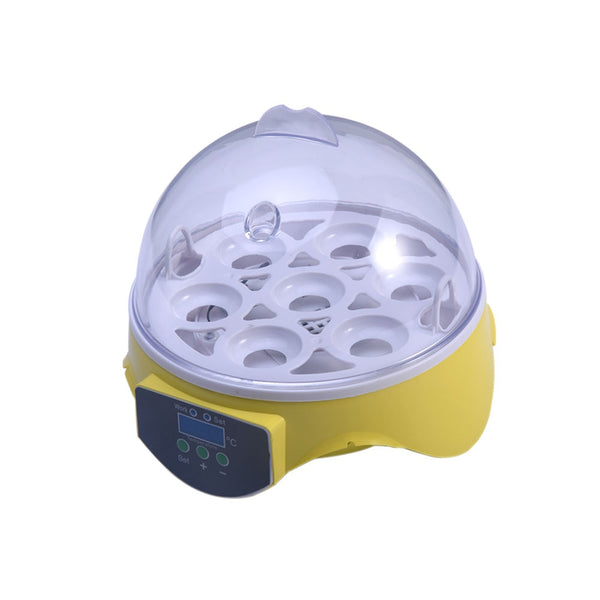 220V Mini 7 Egg Automatic Incubator Poultry Incubator Brooder Digital Temperature Hatchery Egg Incubator Chicken Duck Bird