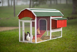 Prevue Pet Products Large Red Barn Chicken Coop (8-10 hens)