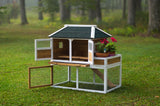 Prevue Pet Products Chicken Coop with Herb Planter