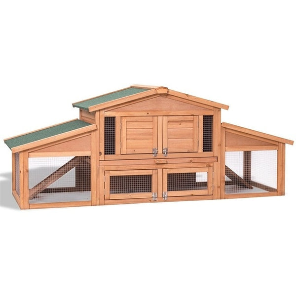 "71"" Waterproof Backyard Wooden Chicken Coop (4-6 hens)"