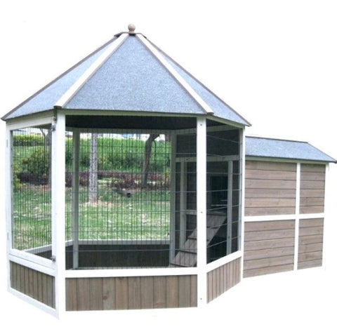 Advantek Solarium Coop (up to 7 hens)